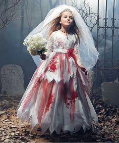 Zombie Bride Costume Set   Chasing Fireflies