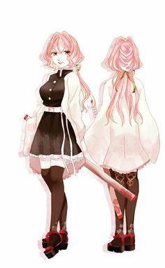 Anime Kimono, Anime Dress, Anime Girl Pink, Anime Art Girl, Anime Oc, Chica Anime Manga, Demon Slayer, Slayer Anime, Character Design Girl