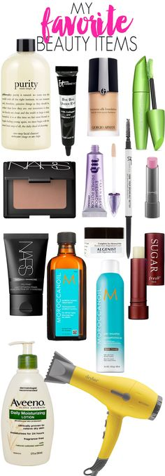 My Favorite Beauty Items — these items are worth repurchasing!
