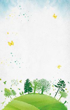 Art trees fresh green background material Artsy Background, Background Design Vector, Flower Background Wallpaper, Cartoon Background, Cute Wallpaper Backgrounds, Flower Backgrounds, Watercolor Background, Cute Wallpapers, Background Images