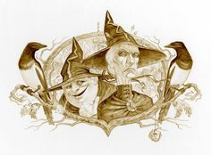 Nanny Ogg and Granny Weatherwax. The people I want to be when I grow up...
