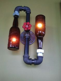 1000 images about diy fix it up on pinterest beer - Beer bottle light fixture ...