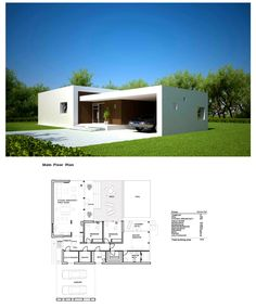 411 best Home Decor images on Pinterest   House floor plans  Modern     modern home architecture plans  2   Small Modern HousesArchitecture