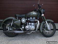 2015 Royal Enfield 500 Bullet Classic (Battle Green) Motorcycle #royalenfield #bulletclassicbattlegreen #forsale #australia