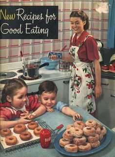 Nancy Baggett's Kitchenlane: 1940s & '50s Baking Ads--Was Baking EVER This Fun, Fuss-free & Fulfilling?