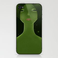 Woman_snake iPhone & iPod Skin by wit_art - $15.00