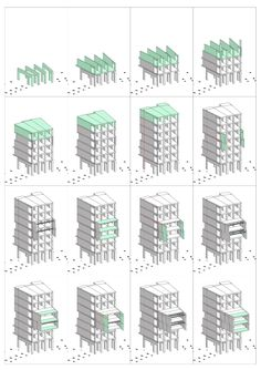 Image 18 of 19 from gallery of Tietgen Dormitory / Lundgaard & Tranberg Architects. Dormitory Room, Student Dormitory, Patio Interior, Interior Exterior, Building Skin, Student House, Apartment Plans, Architecture Drawings, Common Area
