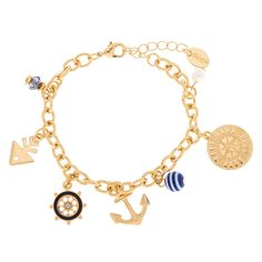 Shop Claire's for the latest trends in jewelry & accessories for girls, teens, & tweens. Find must-have hair accessories, stylish beauty products & more. Girls Hair Accessories, Jewelry Accessories, Fashion Accessories, Fashion Jewelry, Nautical Fashion, Bracelet Designs, Gold Necklace, Rose Gold, Charmed