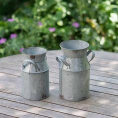 Little Vintage Style Milk Churn Flower Vase