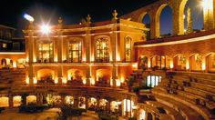 Feel the heat in the former bullring where the five-star #hotel Quinta Real Zacatecas was built in #Mexico http://www.hotels-to-love.com/