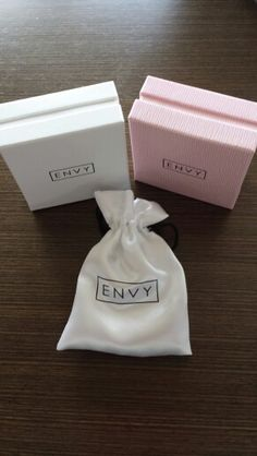 Beautiful new Envy Jewellery packaging More
