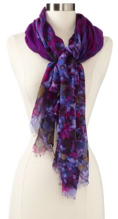 Collection XIIX Women's Reflections Floral Scarf