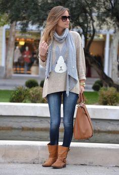 Bellas botas planas | Moda y Tendencia