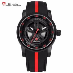07ff8f24ada Thresher SHARK Sport Watch Brand Wheel Design The giant and monster look  watch is named thresher