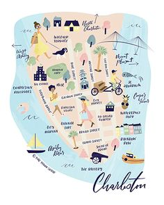 Charleston map I your go to Charleston guide I don't miss out on Charleston