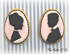 Cameo Wedding Cookies