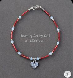 Ankle Jewelry, Jewelry Art, Beaded Jewelry, Handmade Jewelry, Beaded Necklace, Beaded Bracelets, Silver Jewelry, Silver Bracelets, Silver Ring
