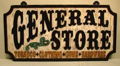 Country Signs, Rustic Signs, Wooden Signs, Antique Signs, Vintage Metal Signs, Man Cave Accent Wall, Cowboy Room, Sign Writing, Hand Painted Signs