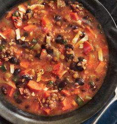 Lentil and Bean Soup - yum