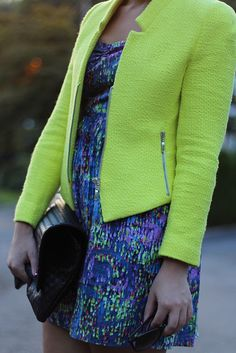 Living After Midnite: Adventure into Color in Fashion by jackiegiardina, via Flickr