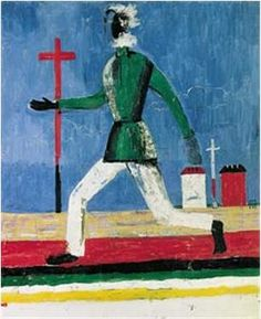 The Running Man, Poster Print by Kazimir Malevich Piet Mondrian, Running Man, Georges Pompidou, Pompidou Paris, Kazimir Malevich, Oil Painting Reproductions, Art Abstrait, Russian Art, Kandinsky