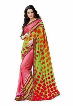 Fabdeal Indian Designer Pink Georgette Printed saree, http://www.amazon.com/dp/B00K0I8ZHM/ref=cm_sw_r_pi_awdm_JmhQtb0P7J5N4
