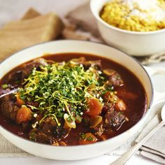 """Beef Shin """"Osso Bucco"""" with Risotto Milanese - Woman And Home"""