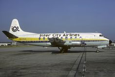 Inter City Airlines Vickers Viscount 708 G-ARGR