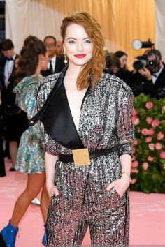 Redheads Rock the 2019 Met Gala Red Carpet — How to be a Redhead Pink Carpet, Red Carpet Looks, Natasha Lyonne, Susan Sontag, Met Gala Red Carpet, Costume Institute, Silver Dress, Redheads, Red Hair