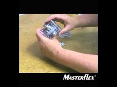 How to load tubing into Masterflex L/S Standard Pump Heads
