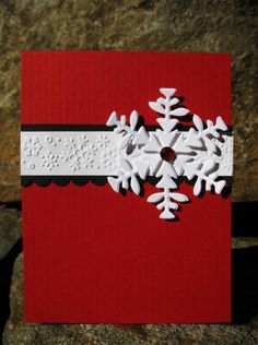 Elegant Snowflake by catcrazy - Cards and Paper Crafts at Splitcoaststampers