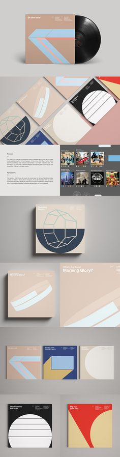 Oasis - Graphic Album Covers on Behance