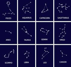 "okaywitch: "" The Brightest Stars in Your Astrological Constellation • Pisces - Alrisha • Aquarius - Sadalmelik • Capricorn - Prima Giedi • Sagittarius - Rukbat • Aries - Hamal • Taurus - Aldebaran •..."