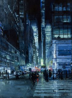 San Francisco-based artist�Jeremy Mann�uses the city streets as his inspiration in this hauntingly beautiful series. The muggy atmosphere lends a certain existential character to the paintings. The visual renditions may get you feeling a touch nostalgic, like only a walk down a rainy street can.