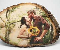 Make a special occasion truly memorable by commemorating it using one of these personalized wood photos. The photograph of your choosing is transferred onto a lovely basswood slab so your special event remains with you forever.