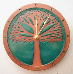 Tree and Landscape Clocks in many assorted colors. Needs one AA Battery.