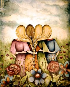 The Four Sisters ~ by Claudia Tremblay