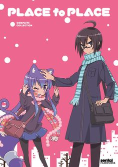 Place to Place (Acchi Kocchi): Tsumiki is in love with Io and everyone in her group of friends knows it- except for the very oblivious, Io. This random comedy is all over the place with everything from bear costumes to intense games of air hockey. (slice of life, school, comedy)