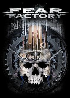 Shirt Design For Fear Factory by Richrd Jones III - Advanced Photoshop