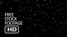Free Stock Video Footage - Slow Snowfall (Black Background) HD Free Stock Footage, Free Stock Video, Video Source, Video Footage, Black Backgrounds, Branding, Movies, Brand Management, Films