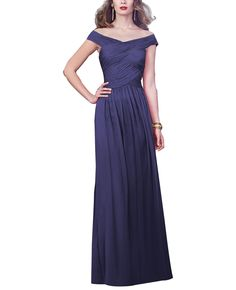 DescriptionDessy Collection2919 Fulllength bridesmaid dressOff the shoulder necklineDraped banded bodiceSlightly shirred skirtLuxChiffon