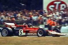 Jochen Rindt driving to win the 1970 British Grand Prix at Brands Hatch in a Lotus-Ford Italian Grand Prix, British Grand Prix, Formula 1, F1 Lotus, Jochen Rindt, Classic Race Cars, Automotive Art, F1 Racing, Indy Cars