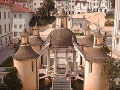 Jardim da Manga. Coimbra, Portugal