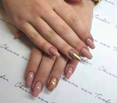 Nails in nude