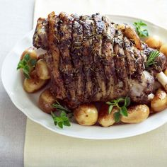 Serve this hearty slow-cooked lamb and potato dish with a Greek salad or steamed spinach.