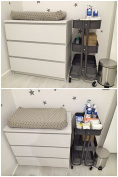 our ikea diaper changing cart baby pinterest diapers