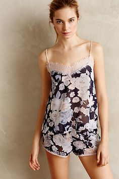 Pajamas. Only Hearts Wildflower Tap Shorts #anthropologie