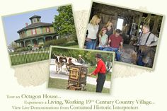 Experience a living, working 19th-century Genesee Country Village & Museum   http://www.gcv.org/