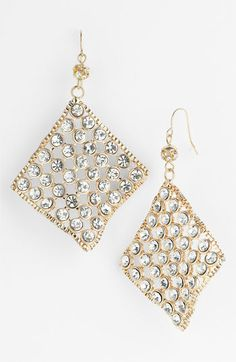 Spring Street Design Group Diamond Shaped Earrings available at #Nordstrom