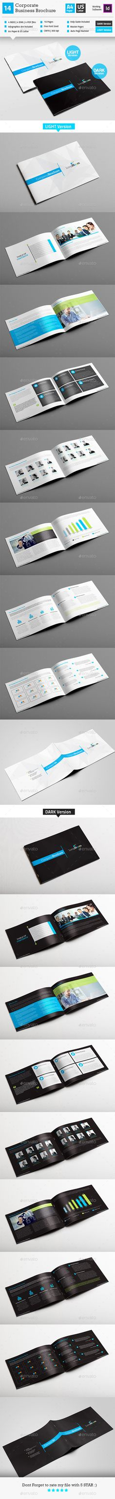 Corporate Business Brochure InDesign Layout Template #design Download: http://graphicriver.net/item/corporate-business-brochure_indesign-layout_v14/12428258?ref=ksioks